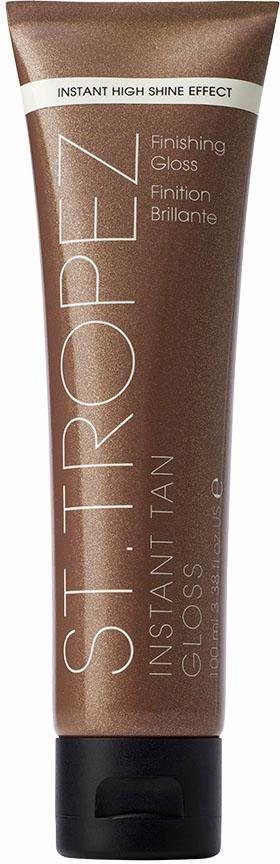 St. Tropez, »Instant Tan Finishing Gloss«, Körpergel mit Bronzeschimmer, 100 ml